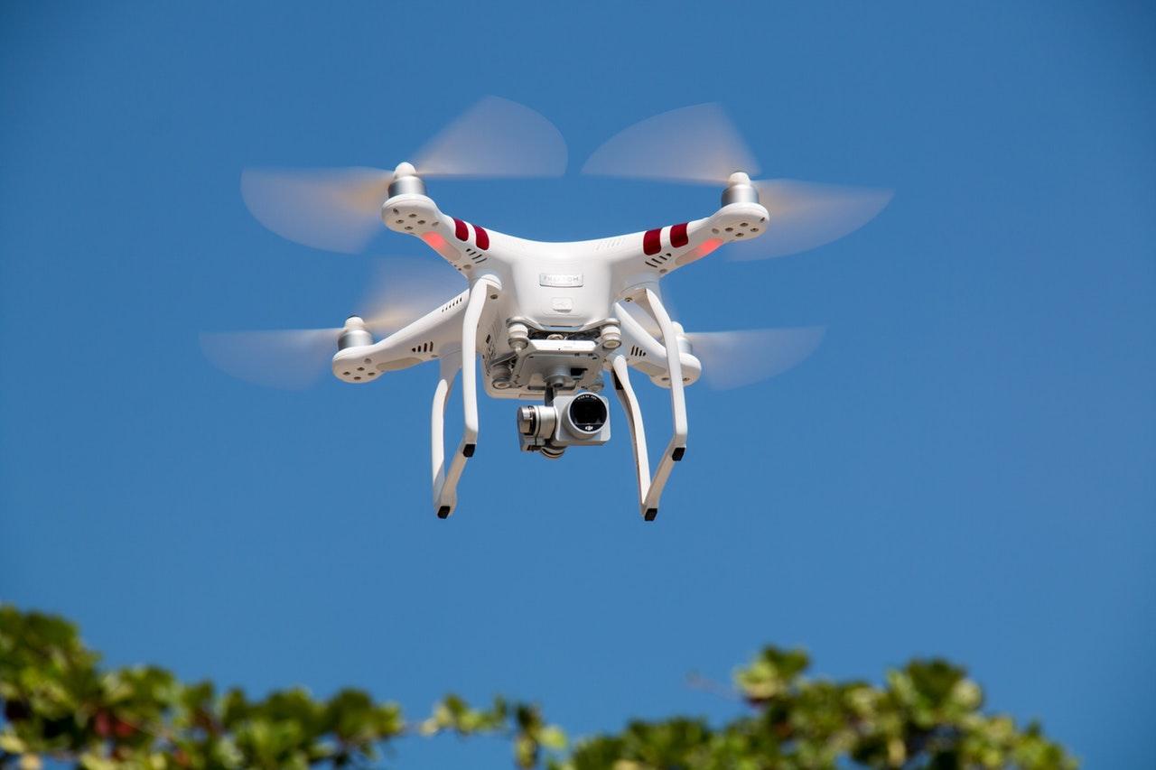 Drone x falcão